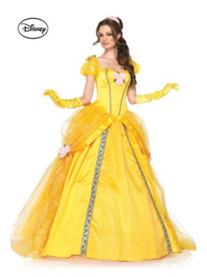 Adult Deluxe Beauty and the Beast's Princess Belle Ball Gown Disney Costume