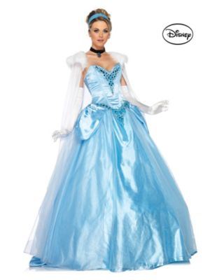 Adult Deluxe Princess Cinderella Ball Gown Disney Costume