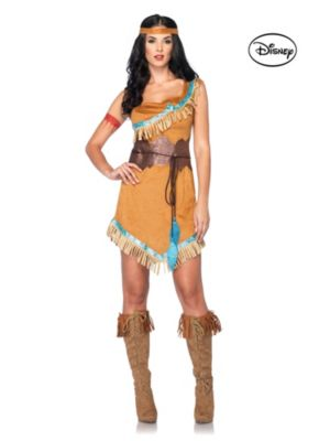 Adult Princess Pocahontas Disney Costume