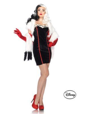 Adult Cruella de Vil Adult Disney Costume