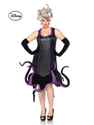 Adult The Little Mermaid Ursula Plus Size Disney Costume