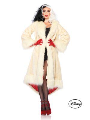 Adult Disney Cruella de Vil Fur Coat