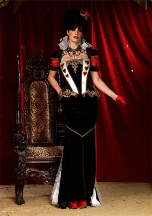 Adult Sexy Deluxe Royal Red Queen Costume