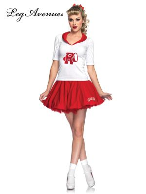 Sexy Adult Grease Rydell High Cheerleader