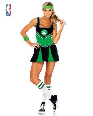 Sexy Adult Boston Celtics Cheerleader Costume