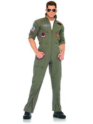 Adult Top Gun Flight Suit Costume