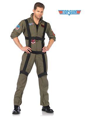 Adult Top Gun Paratrooper Costume