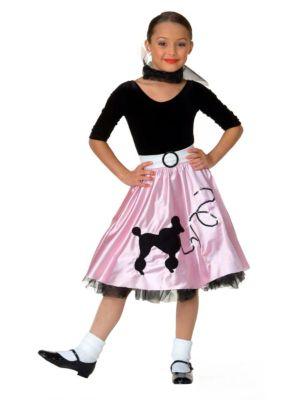 Jukebox Girl Costume for Child