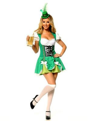 Lucky Irish Lass Sexy Costume