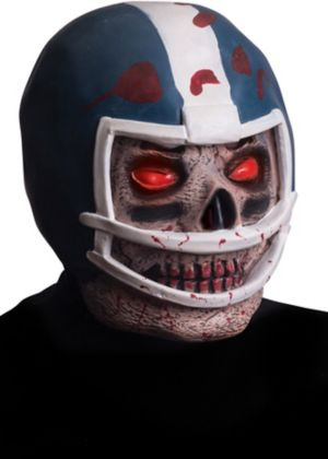 Zombie Football Helmet Mask