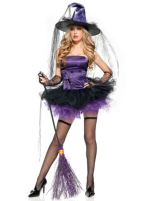 Sexy Spider Witch Womens Costume