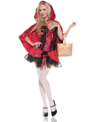Sexy Red Riding Hood Womens Costume