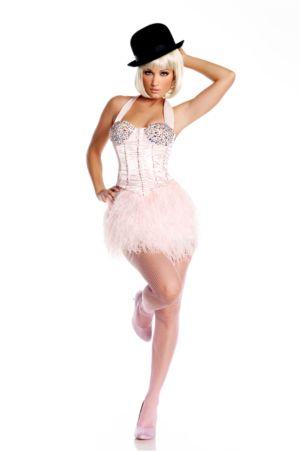 Adult Sexy Burlesque Ballerina Deluxe Costume