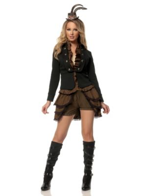 Adult Steampunk Lady Deluxe Costume