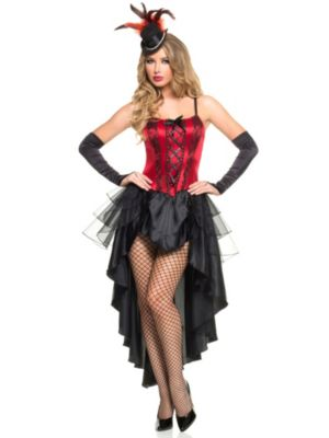 Sexy Adult Burlesque Beauty Costume