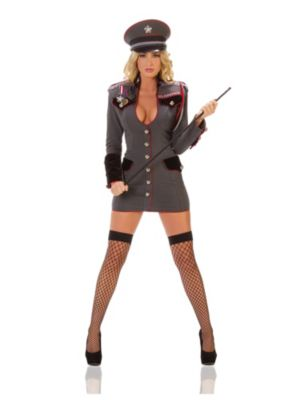 Sexy General Perversion Womens Costume