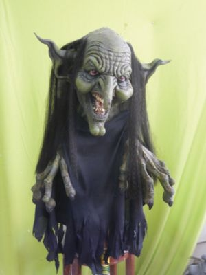 Witch Hanging Prop