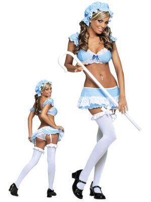 Little Bo Peep Show Womens Sexy Costume
