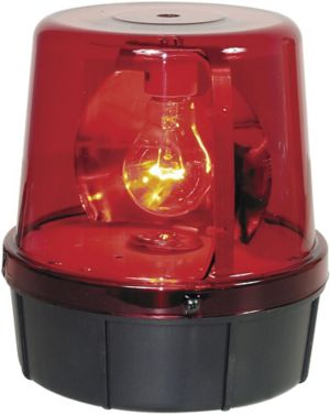 """7"""" RED POLICE BEACON LIGHT FIXTURE"""