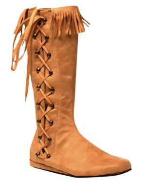 Indian Side Laces Women Boots Adult