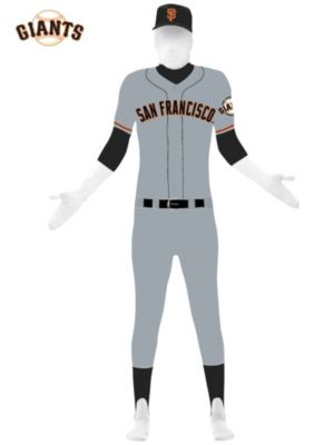 San Francisco Giants Adult Skin Suit