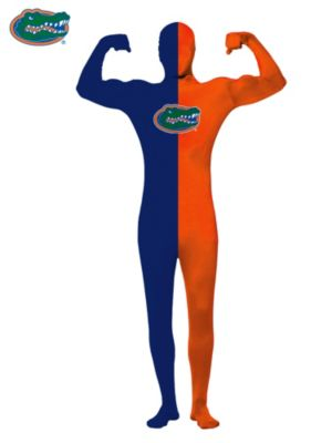 University of Florida Plus Size Men's Skin Suit