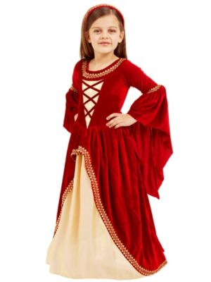 Child Alessandra The Crimson Princess Costume