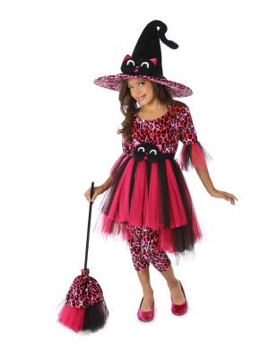 Child Cora the Kitty Witch Costume