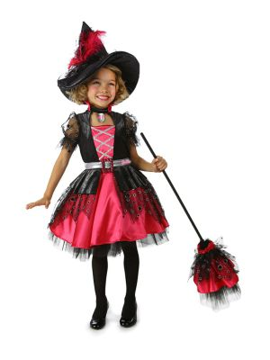 Child Barbie Witch Costume