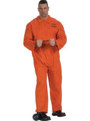Adult Sized Jail Bird Jumpsuit