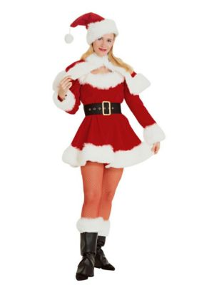 Adult Miss Santa