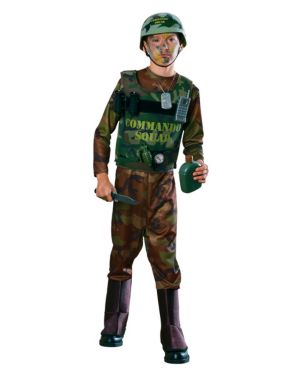 Commando Costume for Boy