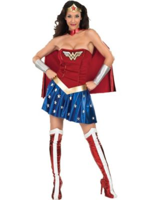 Wonder Woman Costume For Adults