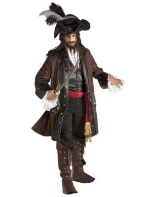 Adult Grand Heritage Caribbean Pirate Costume