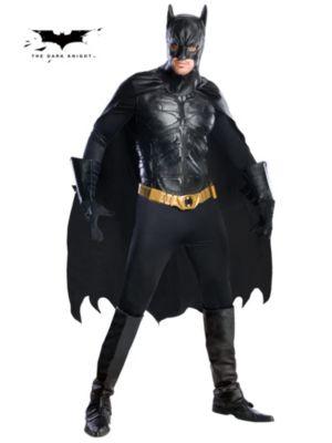 Adult Collectors Edition Dark Knight Batman Costume