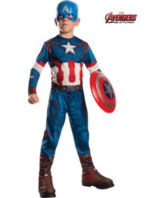 Child Avengers 2 Captain America Costume