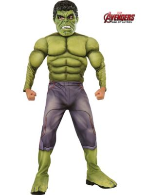 Child Avengers 2 Deluxe Hulk Costume