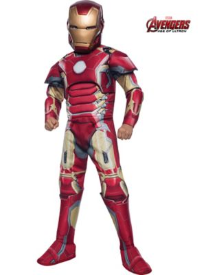 Child Avengers 2 Deluxe Iron Man Mark 43 Costume