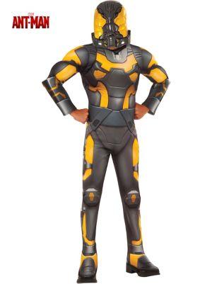 Antman Deluxe Boys Yellow Jacket Costume