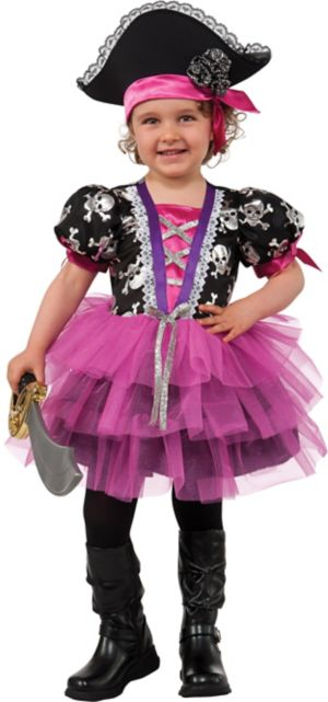 GIRLS TODDLER PIRATE PRINCESS COSTUME