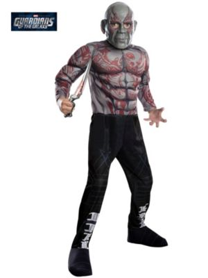 Child Marvel's Guardians of the Galaxy Drax the Destroyer Deluxe Costume