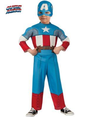 Child Avengers Assemble Captain America Toddler Costume
