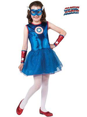 Child American Dream Tutu Dress Costume