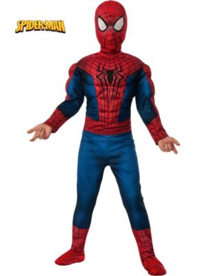 Child Deluxe Amazing Spider-Man 2 Muscle Chest Costume