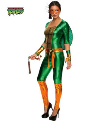Sexy Adult Michelangelo Jumpsuit Costume