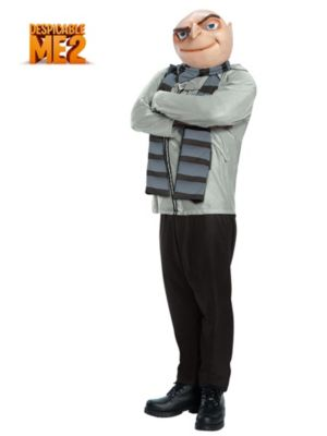Adult Plus Size Despicable Me Gru Costume