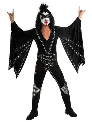 Adult Deluxe Kiss Demon Costume