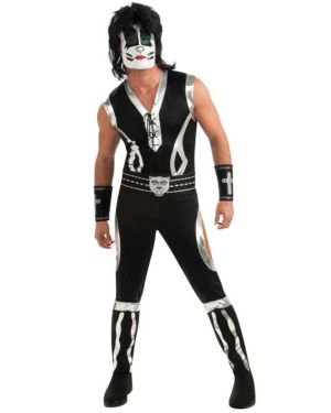 Adult Deluxe Kiss Cat Man Costume