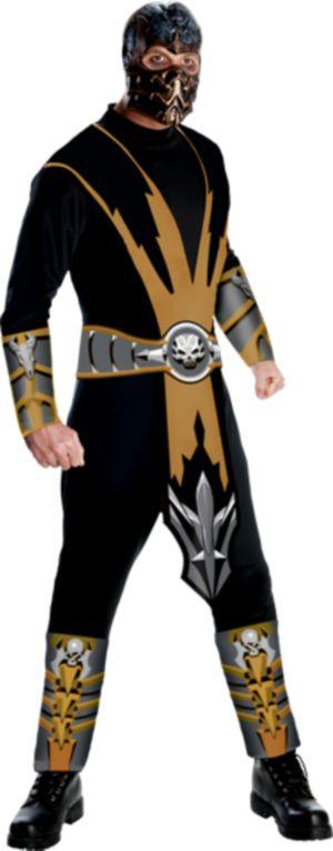 Adult Mortal Kombat Scorpion Costume