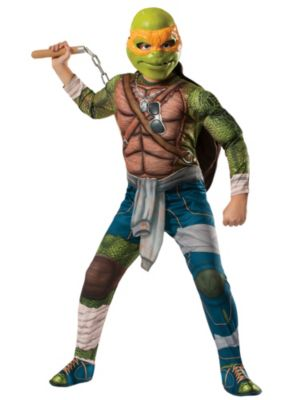 Adult TMNT Movie Michelangelo Costume